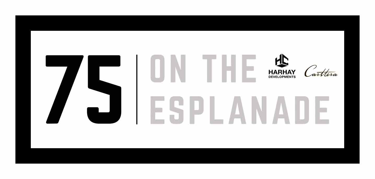 75 On The Esplanade Condos Logo